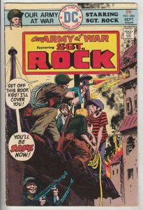Our Army at War #284 (Sep-75) FN+ Mid-High-Grade Easy Company, Sgt. Rock
