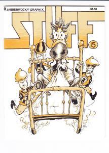 Stuff #15 VF/NM jabberwocky graphix BRAD W. FOSTER mark martin 1989 (#201)