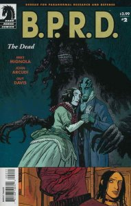B.P.R.D.: The Dead #2 FN; Dark Horse | save on shipping - details inside