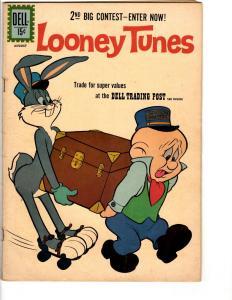Looney Tunes # 238 FN Dell Silver Age Comic Book Bugs Bunny Daffy Duck Fudd JL14