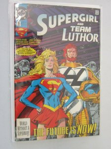 Supergirl and Team Luthor #1 8.0 VF (1993)