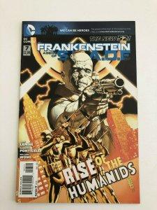 FRANKENSTEIN AGENT OF S.H.A.D.E. #7 The New 52 DC Comics 2011 NM