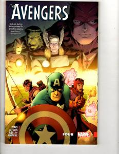 FOUR Avengers Marvel Comics TPB Graphic Novel Comic Book Hulk Thor Iron Man J308
