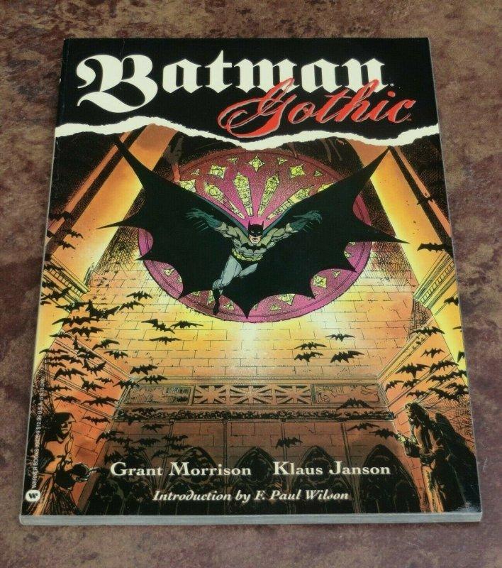 Batman Gothic TPB GN VF 1st Print Grant Morrison Klaus Janson 1992 DC Comics
