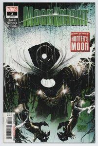 Moon Knight #3 Main Cvr 1st Full Hunter's Moon Appearance (Marvel, 2021) NM