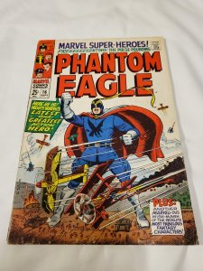 Marvel Super-Heros 16 VG 1st Phantom Eagle