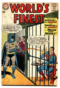 WORLDS FINEST #145 comic book 1964-DC COMICS-BATMAN-SUPERMAN-ROBIN