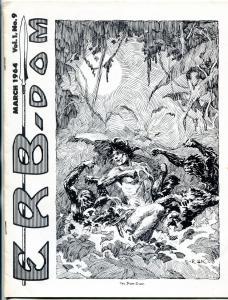 ERB-Dom fanzine #9 1964- Edgar Rice Burroughs- Tarzan f/vf