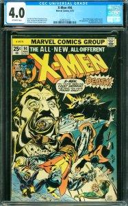 X-Men #94 CGC 4.0