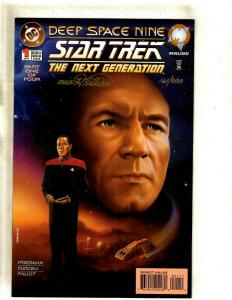 Star Trek: The Next Generation/Deep Space Nine # 1 NM- DC Comic SIGNED J372
