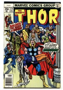 Thor #274 1st appearance of Hugin and Munin - Marvel comic book