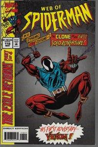 Web of Spider-Man #118 (Marvel, 1994) KEY - 1st Scarlet Spider
