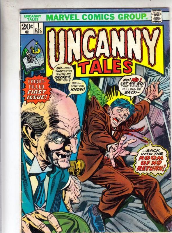 Uncanny Tales #1 (Dec-73) FN+ Mid-High-Grade
