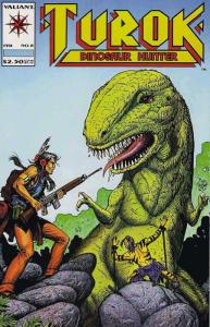 Turok, Dinosaur Hunter #8 VF/NM; Valiant | save on shipping - details inside