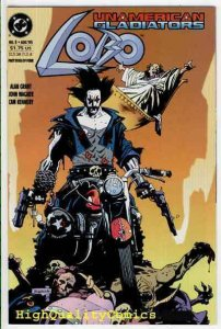 LOBO : UNAMERICAN GLADIATORS #3, NM+, Mike Mignola, Alan Grant, more in store
