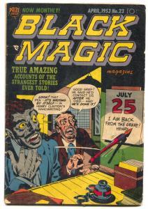 Black Magic #23 1953-PRE CODE HORROR-Simon & Kirby art- VG