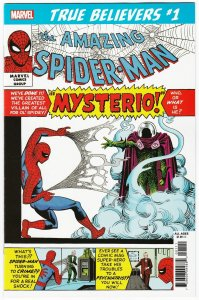 True Believers Spider-Man vs Mysterio #1 Reprints ASM #13 (Marvel, 2019) NM