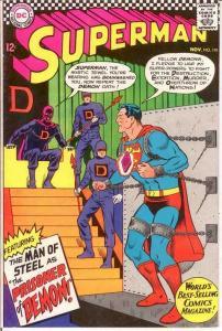 SUPERMAN 191 VG+  November 1966 COMICS BOOK