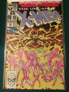 The Uncanny X-Men #226 Fall of the Mutants