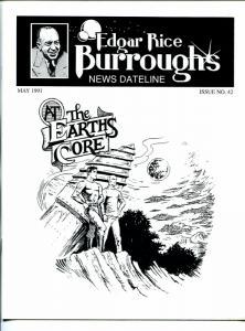 Edgar Rice Burroughs News Dateline #42 1991-Tarzan-new format issue-VF