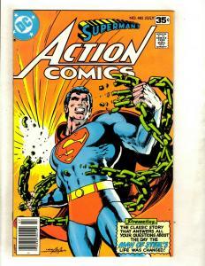 Action Comics # 485 VF/NM DC Comic Book Batman Superman Flash Wonder Woman GK5