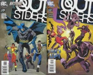 OUTSIDERS (2003) 26-27 Tick, Tock 2-part story