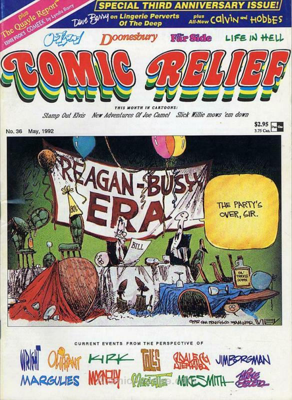 Comic Relief (magazine) #36 FN; Page One | save on shipping - details inside