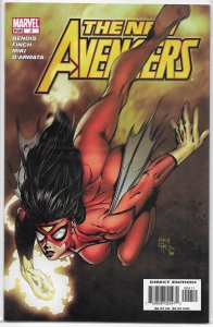 New Avengers (vol. 1, 2005) # 4 FN (Breakout 4) Bendis/Finch, Spider-Woman
