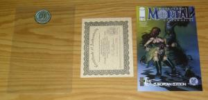 More Than Mortal: Otherworlds #1 VF/NM dynamic european variant w/COA (1,500)