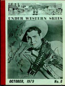 Under Western Skies #8 10/1979-Sunset Carson-B-Westerns-G/VG