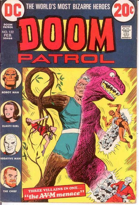 DOOM PATROL 122 VF REPRINTS    Feb. 1973 COMICS BOOK