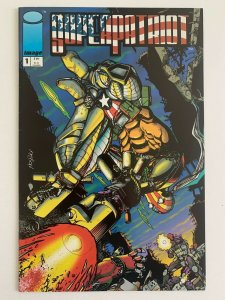Image Comics Super Patriot #1 (1992) First Issue VF+