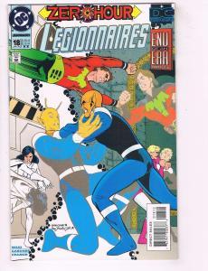 Legionnaires # 18 VF/NM RARE 2nd Print DC Comic Book Superboy Superman Flash J62