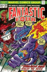 Fantastic Four (1961 series) #134, Fine- (Stock photo)