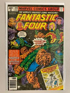 Fantastic Four #209 Newsstand 1st appearance of Herbie the Robot 8.5 VF+ (1979)