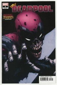 Deadpool #6 Pham Marvel Zombies Variant (2020) NM