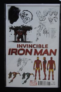 Invincible Iron Man #1 Variant Edition