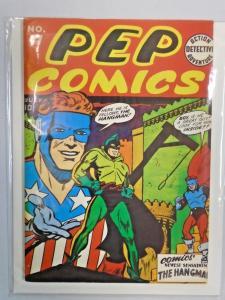 Flashback #16 Pep Comics 17 grade 8.0 VF (1941 1974)