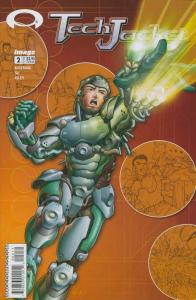 Tech Jacket #2 VF/NM; Image   save on shipping - details inside