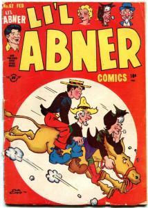 LI'L ABNER #62 1948-HARVEY COMICS-AL CAPP ART -DOGPATCH G