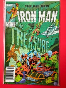 THE ALL NEW IRON MAN V1 #175 1983 MARVEL / NEWSSTAND / MID-GRADE QUALITY+