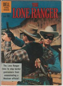 Lone Ranger, The #137 (Dec-60) VF+ High-Grade The Lone Ranger, Tonto, Silver