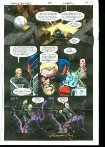 Original D.C. Color Guide Shadow Of The Bat #35 Pg 10