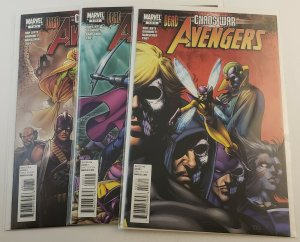 Avengers Chaos War #1-3 Complete Set High Grade NM Marvel Comics 2011
