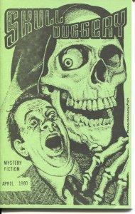 SKULL DUGGERY #2-1980-PULP MYSTERY & HORROR FANZINE-BILL PRONZINI-WILL MURRAY