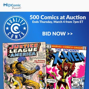 Quality Comix Auction Event #37