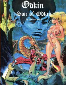 ODKIN, SON of ODKIN HC w/ dustjacket, FN/VG+ 1st, 1981, Limited ed., Wally Wood