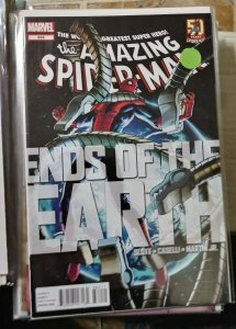 Amazing Spider-Man # 682  2012  marvel  ends of the earth+ doctor octopus