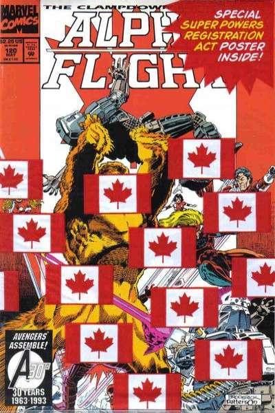 Alpha Flight (1983 series) #120, NM (Stock photo)