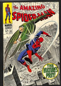 Amazing Spider-Man #64 VG+ 4.5 Vulture!